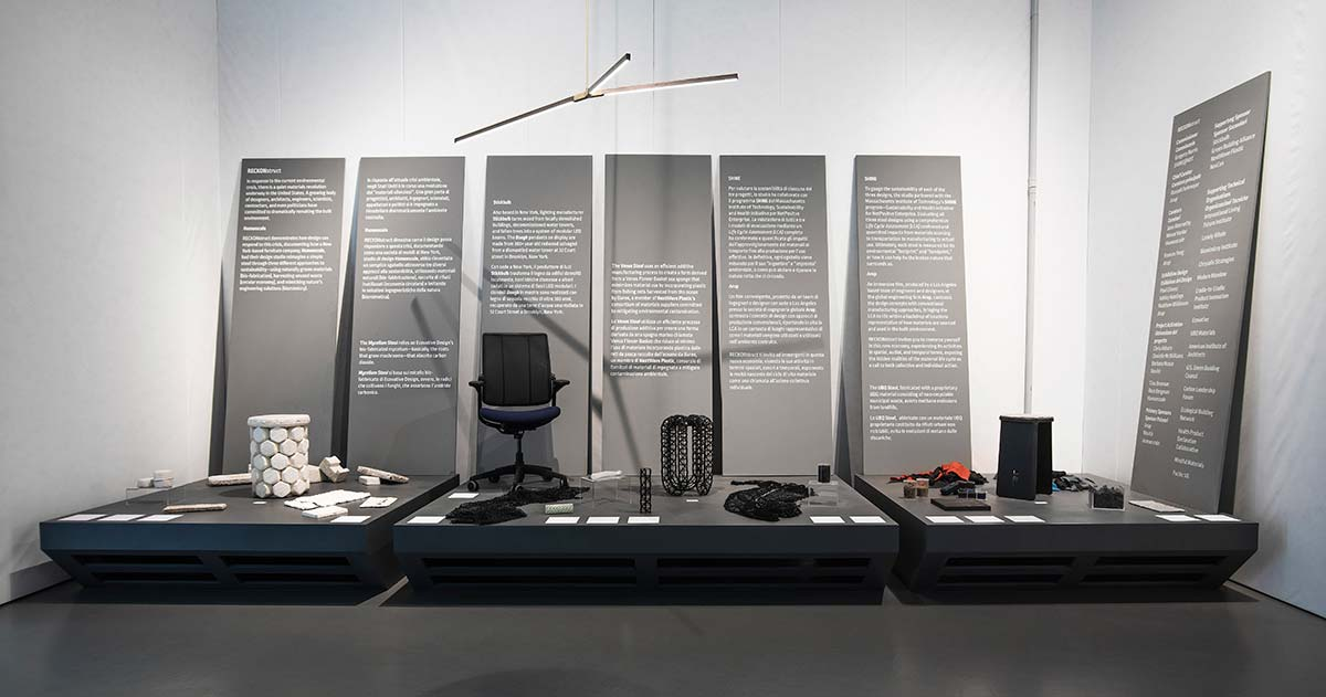RECKONstruct, US Pavilion at Triennale di Milano