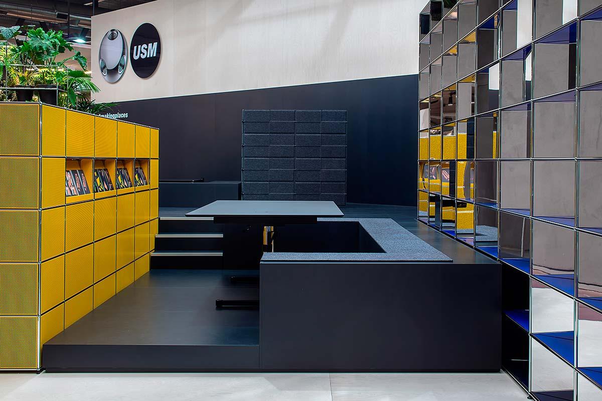 USM, Installazione 'Making Place' al Salone del Mobile.Milano 2019