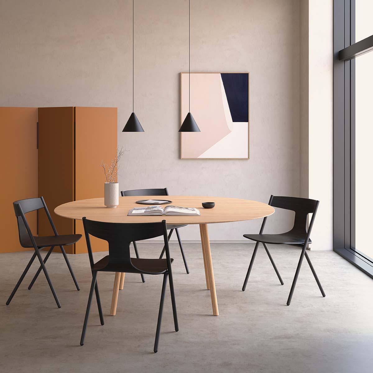 Quadra chair by Viccarbe - Design Mario Ferrarini