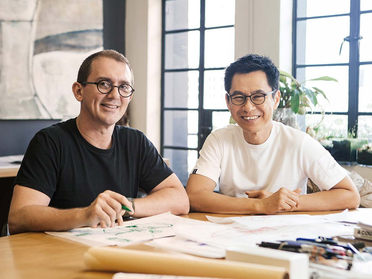 Woha, founded by Wong Mun Summ and Richard Hassell