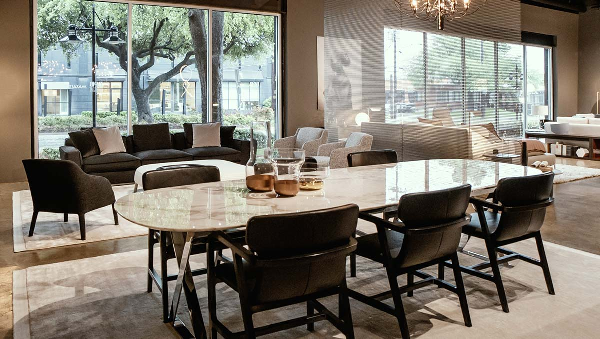 Flagship store B&B Italia Dallas