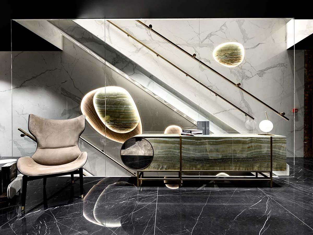 Showroom di Iris Ceramica, Londra