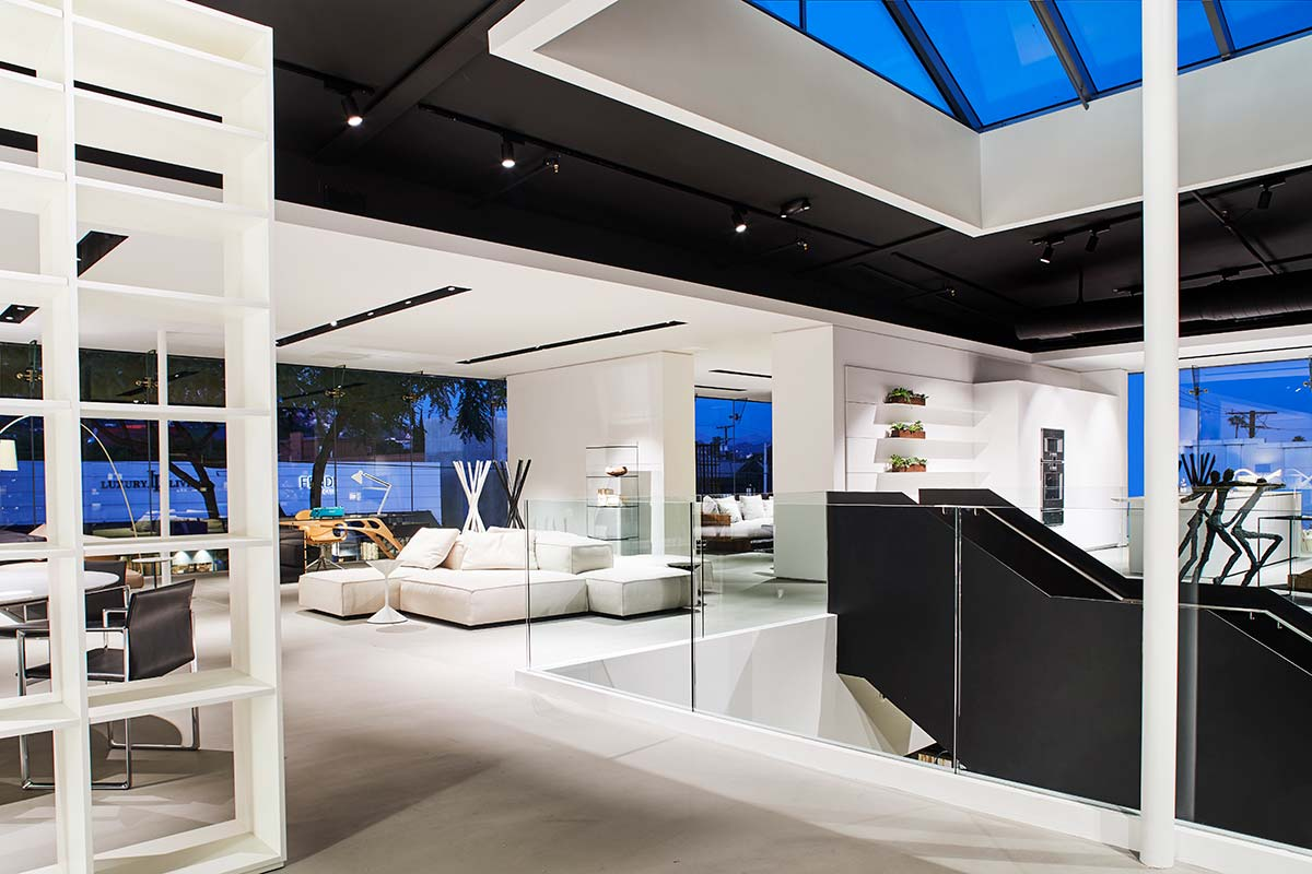 Showroom Luminaire, Los Angeles