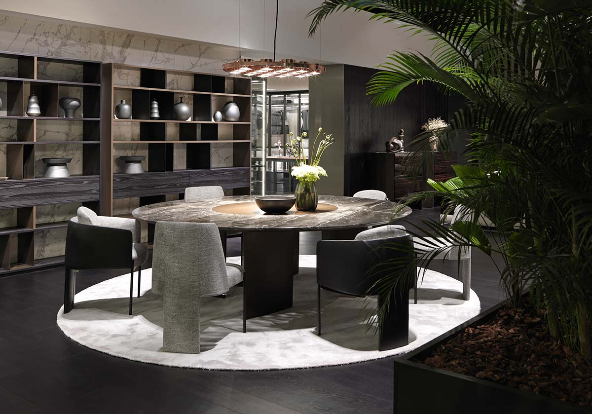 Ala table by Ferruccio Laviani with new finishes