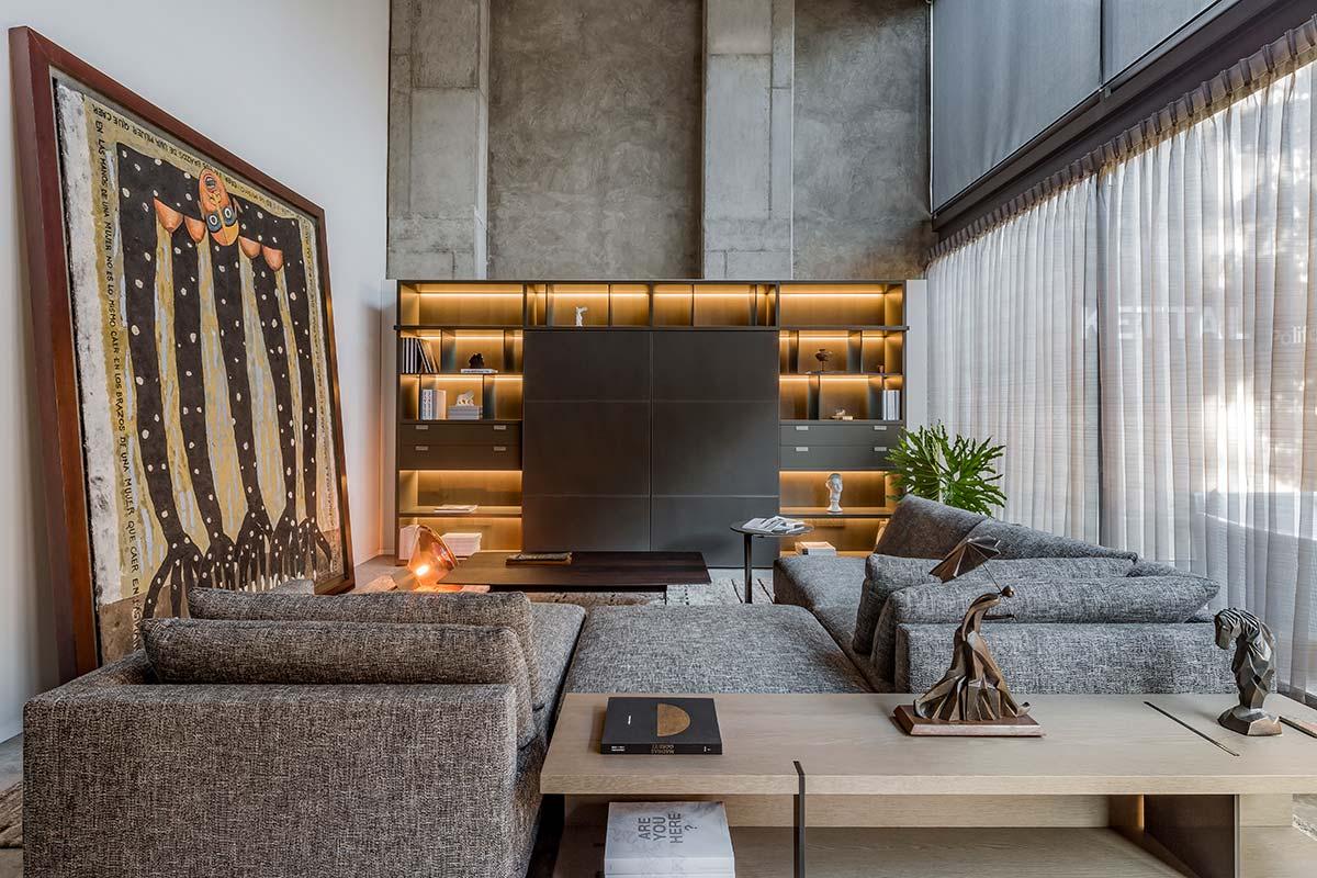 Poliform a Guadalajara, showroom Osso Furniture
