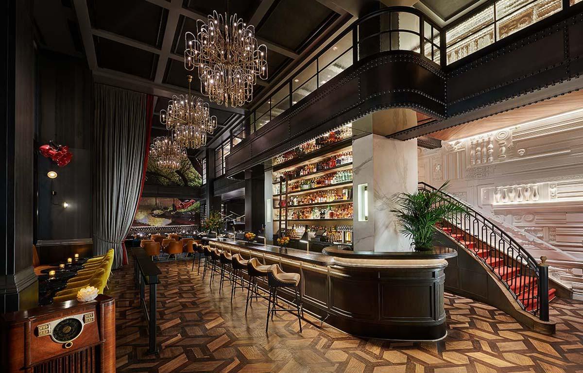 Commons-Club, Virgin Hotel @ San-Francisco