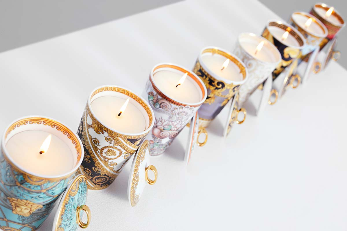 Scented candles, Rosenthal meets Versace 2019