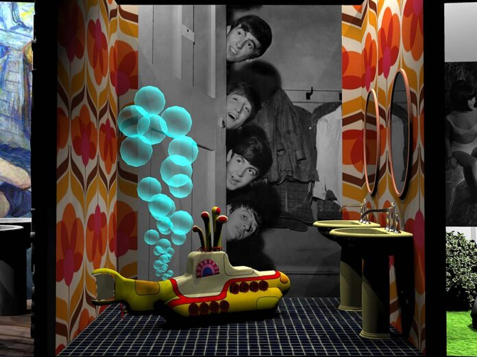 Beatles, Famous Bathroom