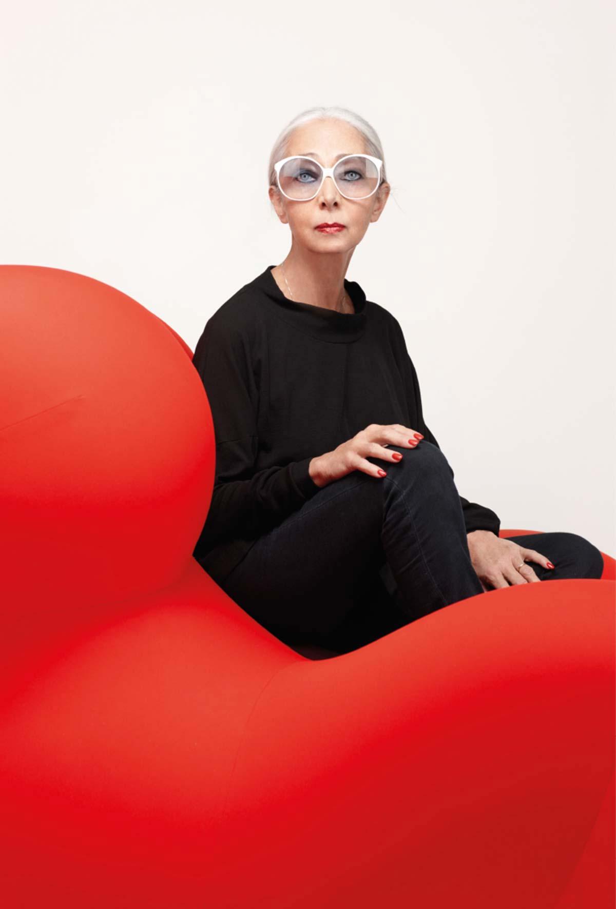 Rossana Orlandi, curatrice mostra 'Design Italia'