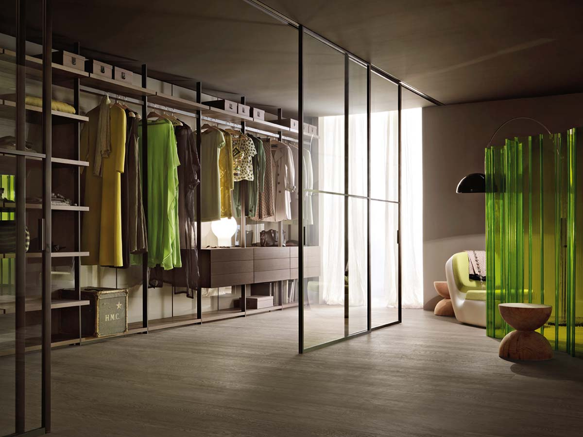 Walk in Closet, Piero Lissoni, Lema