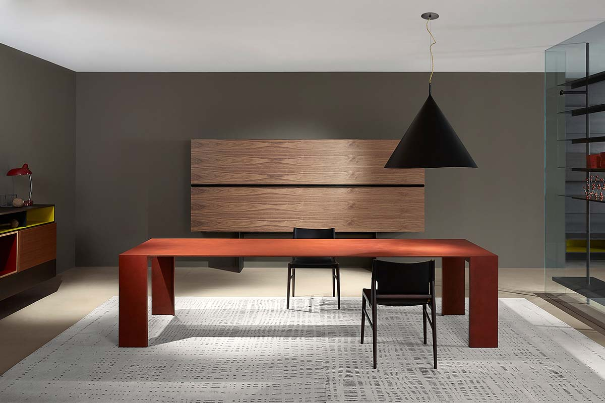 Metallico by Piero Lissoni, Porro