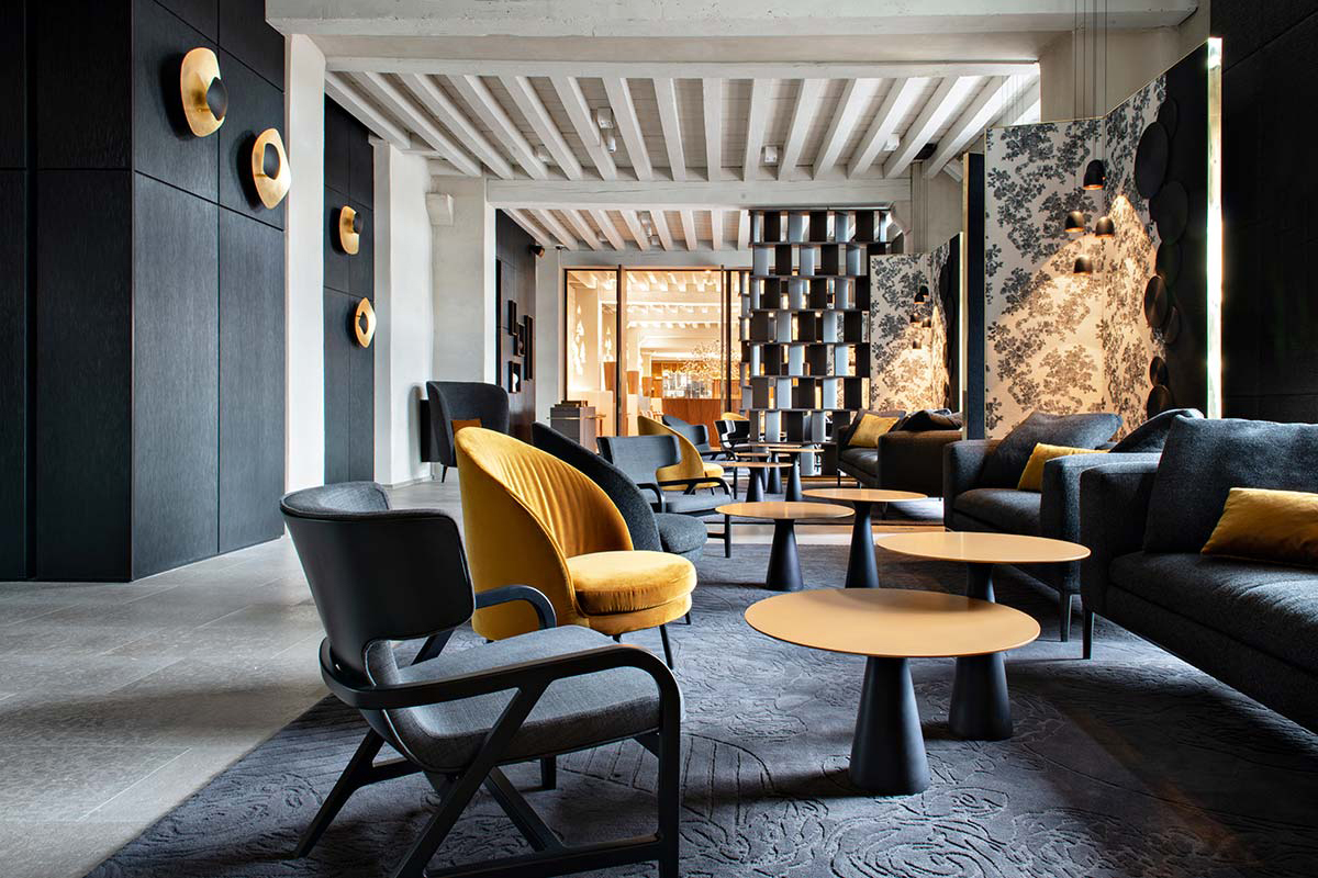 Intercontinental Lyon Hotel-Dieu by Jean Philippe Nuel Archiercture&Design - Photo © Nicolas Matheus