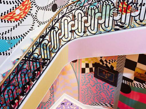 Sasha Bikoff, Stairway to heaven