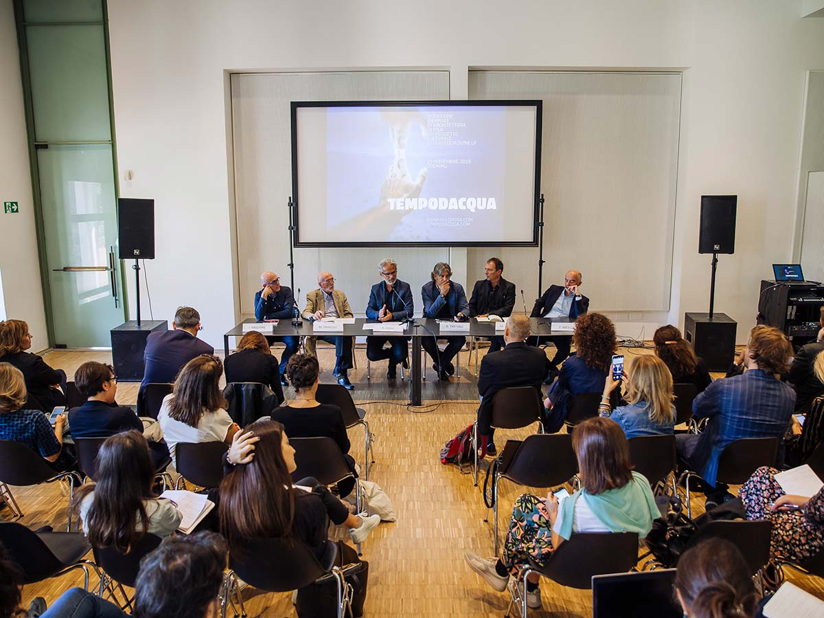 Conferenza stampa Biennale di Pisa, Triennale di Milano, @SAnzini