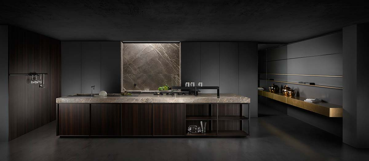 Kuadra, design by Key Team, Key cucine