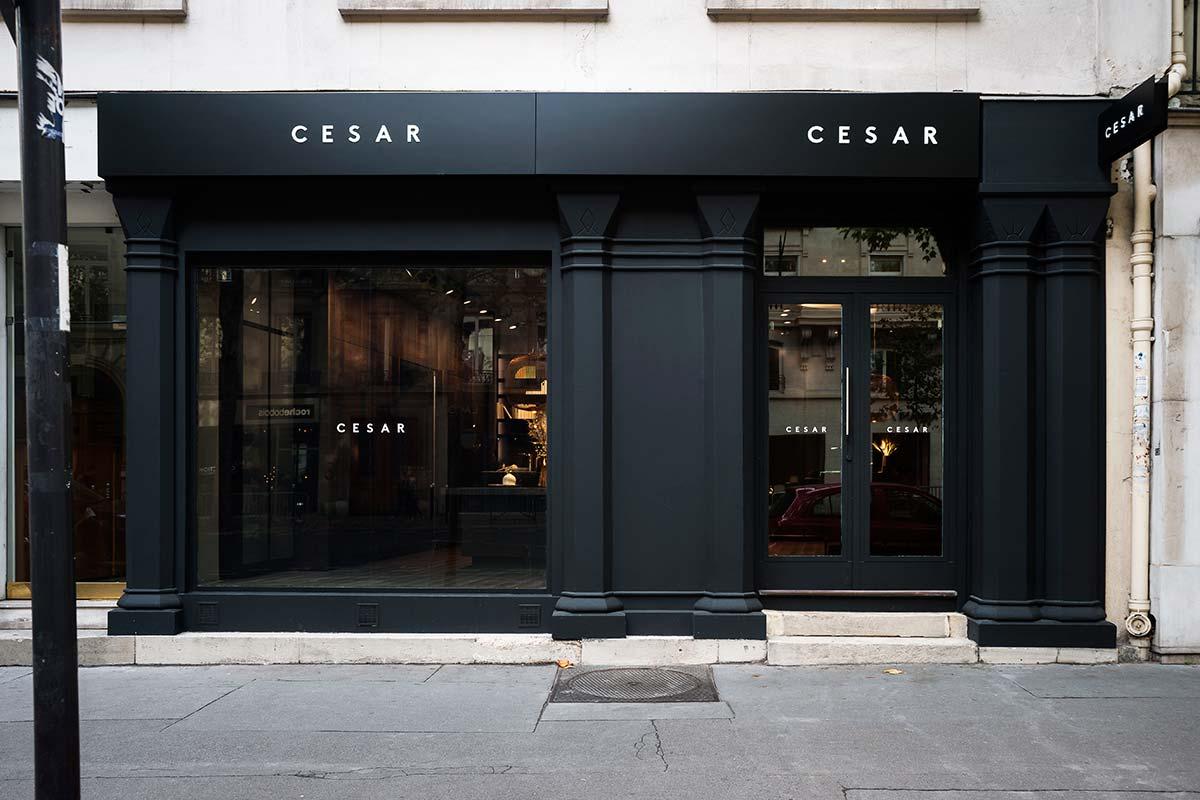 Flagship Store Parigi Cesar @Giuseppe Dinnella