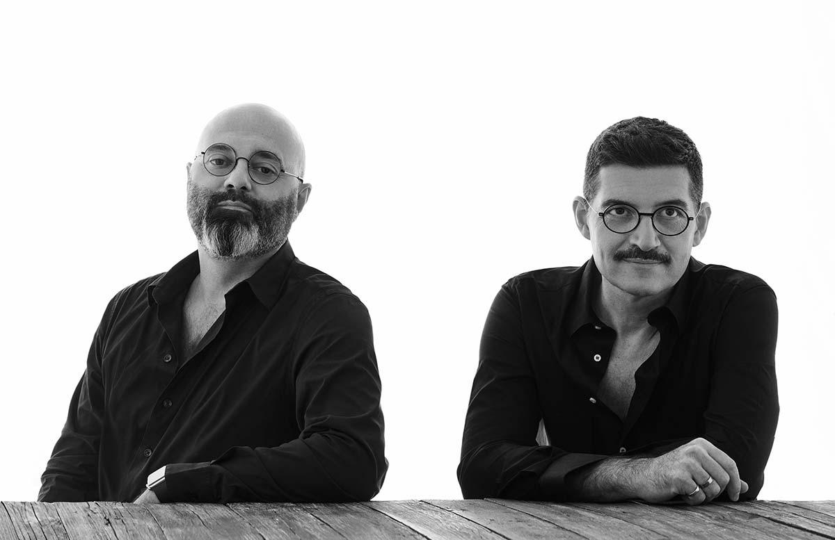 Paolo Brambilla & Fabio Calvi (Studio Calvi Brambilla), Flos Design Curators, © Emilio Tini