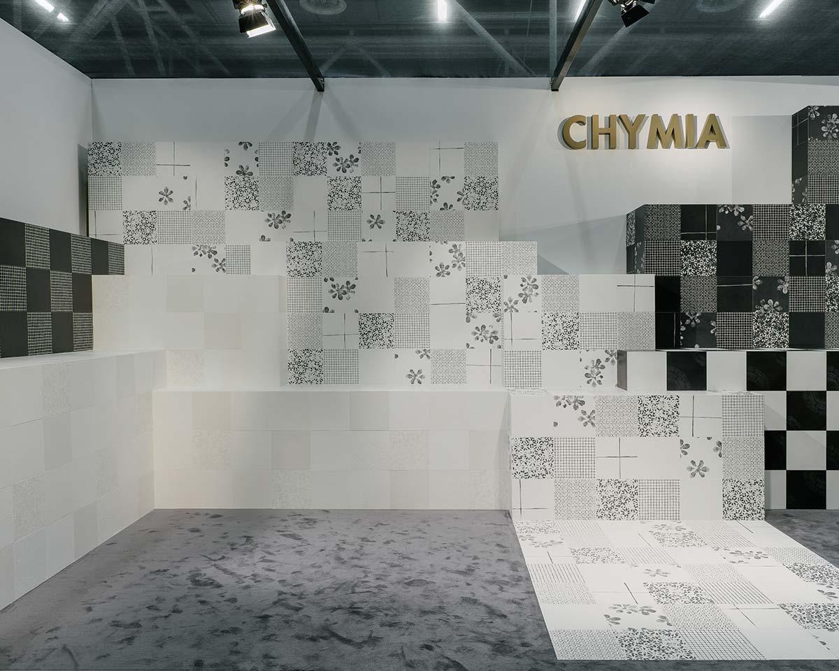 Chymia a Cersaie 2019, stand Mutina
