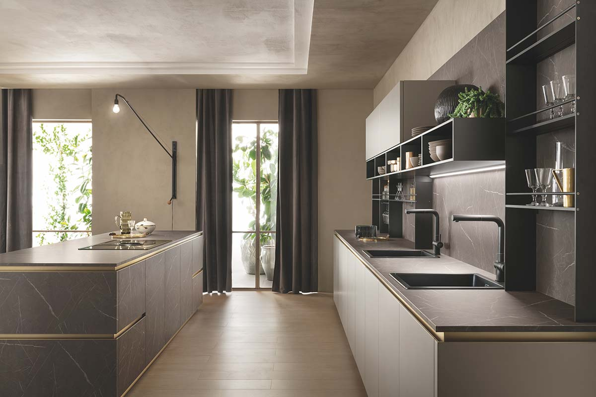 Cucina DeLinea by Vuesse, Scavolini