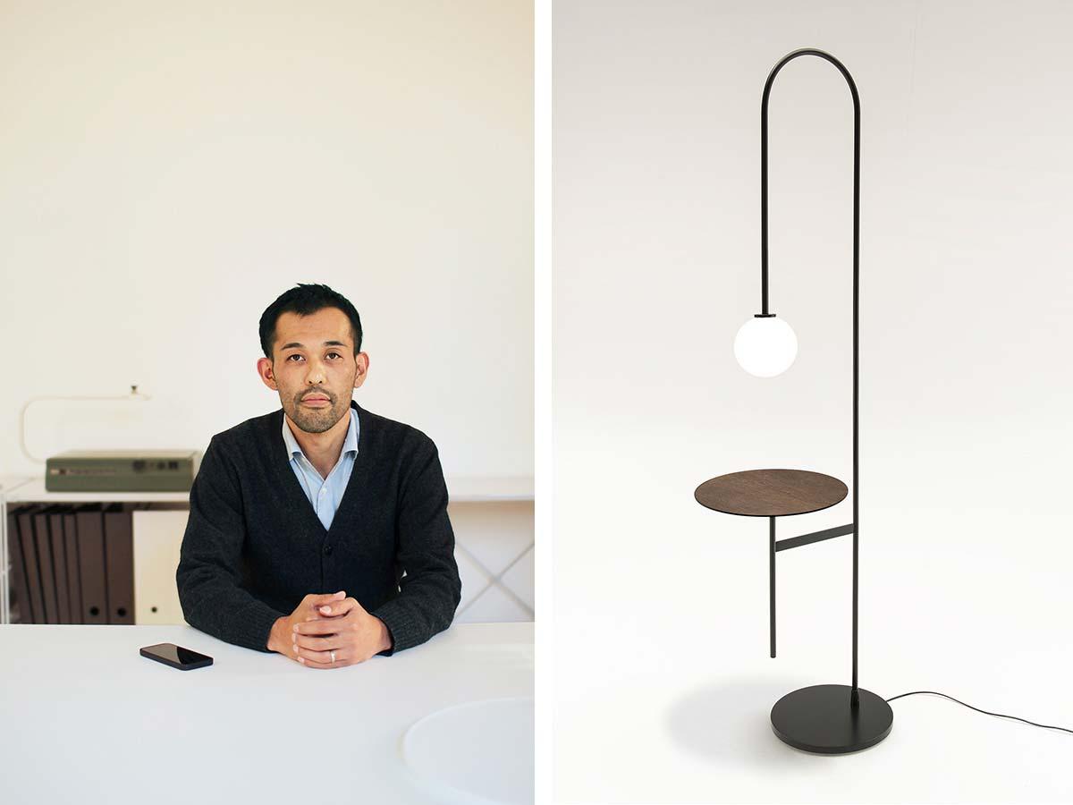 Keiji Takeuchi per Living Divani, Light with a table