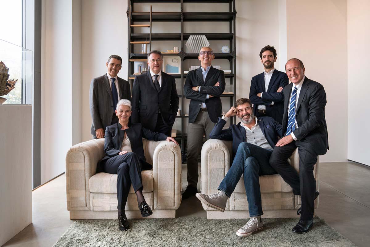 Presidente Paolo Facchini, dall'Amministratore Delegato Franco Guidi e dai soci Alessandro Adamo, Marco Amosso, Elda Bianchi, Roberto Cereda e Adolfo Suarez