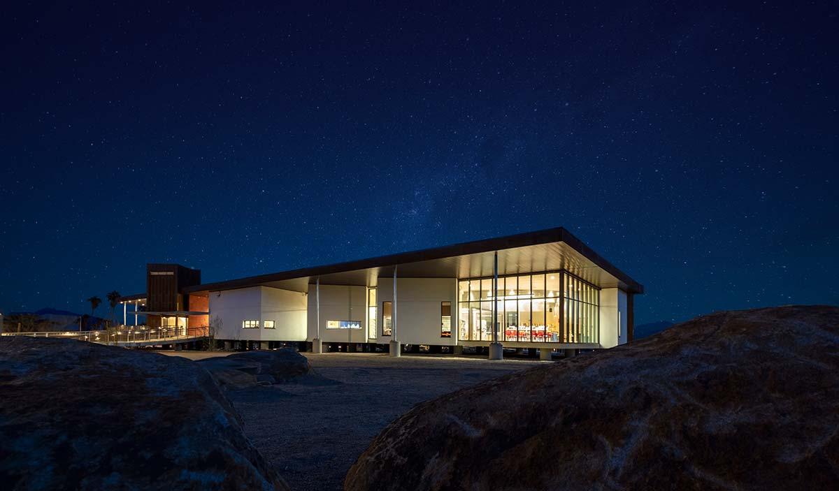 Luceplan, Borrego Springs Library by Jeff Durkin