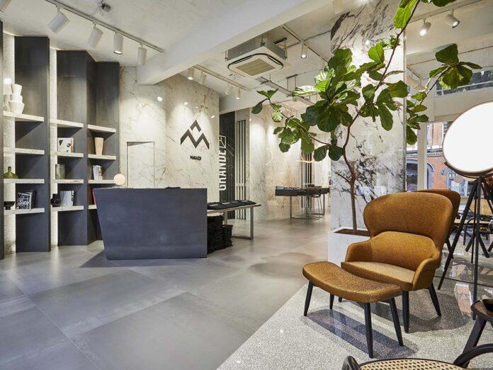 Ingresso showroom Marazzi a Clerkenwell