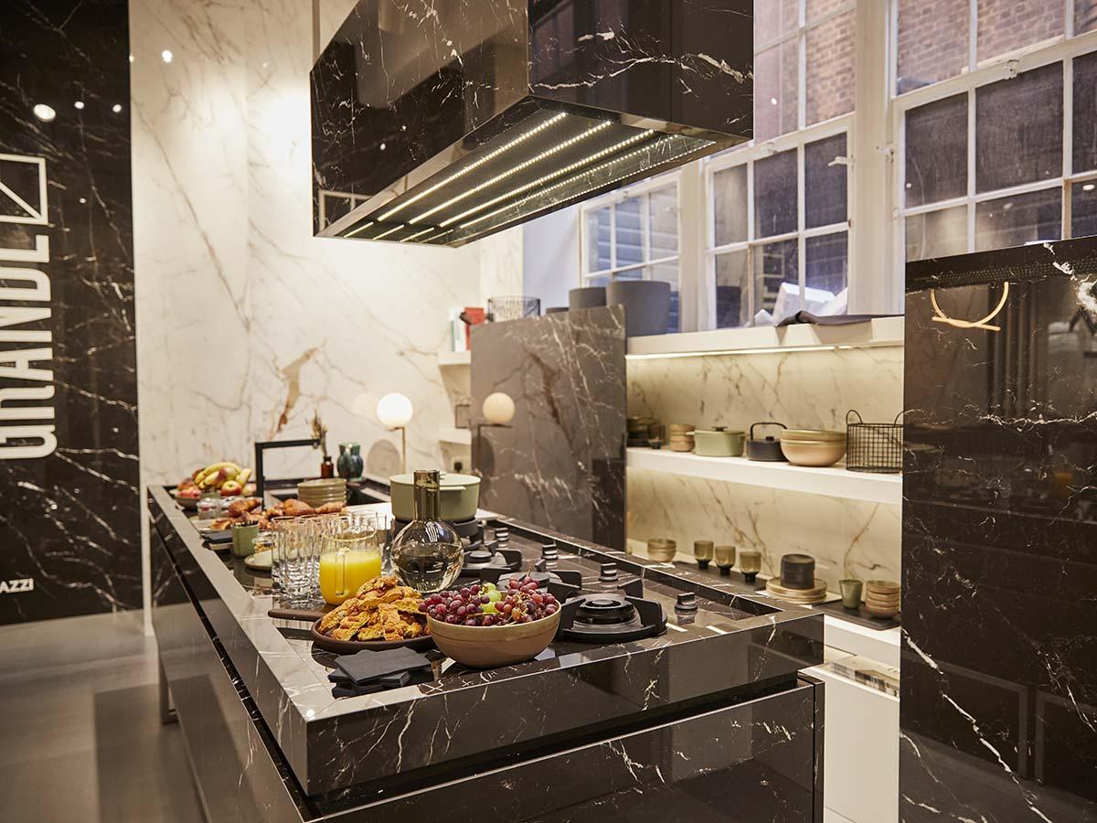 Area cucina showroom Marazzi a Clerkenwell