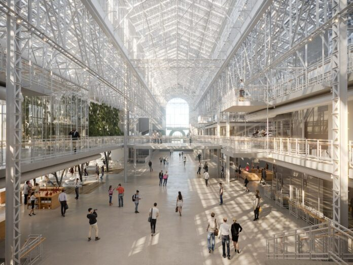 Renzo Piano Building Workshop con APEX Project Bureau GES2 project Mosca ©RPBW