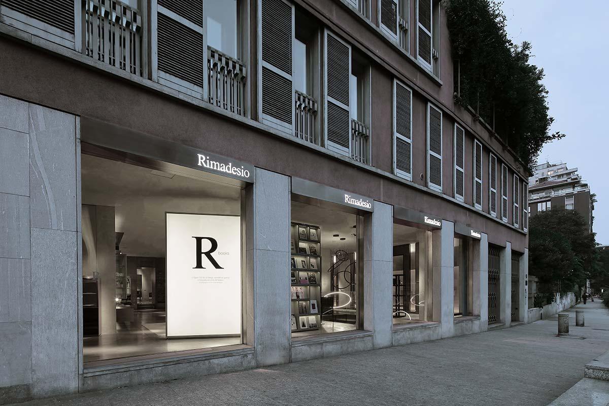 Flagship store Rimadesio di via Visconti di Modrone, Milano