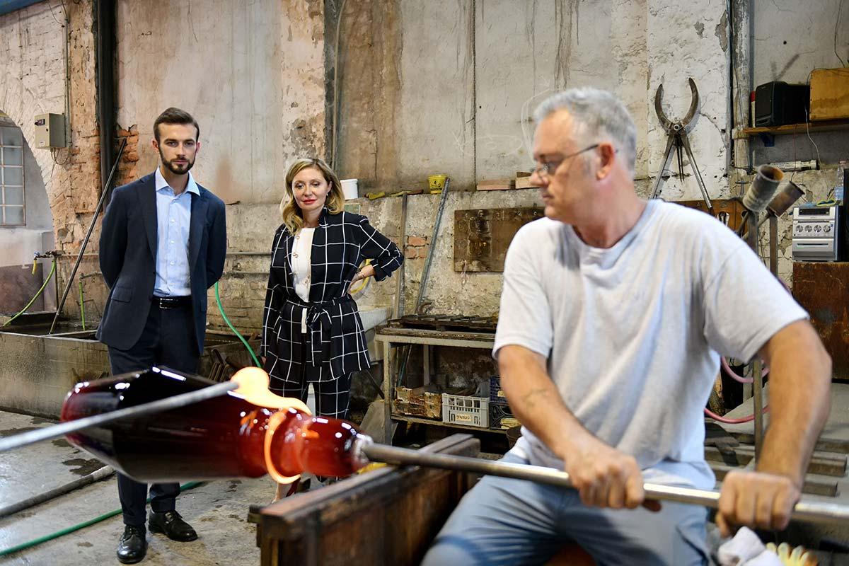 Ferruccio Lamborghini, Vicepresidente e CEO di Tonino Lamborghini Spa, Silvia Damiani, Vice Presidente del gruppo Damian