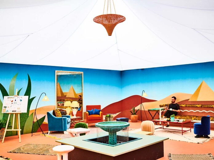 VIP Lounge by Beata Heuman a Decorex International, 2018