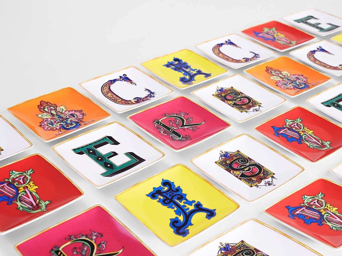 Versace Holiday Alphabet Collection