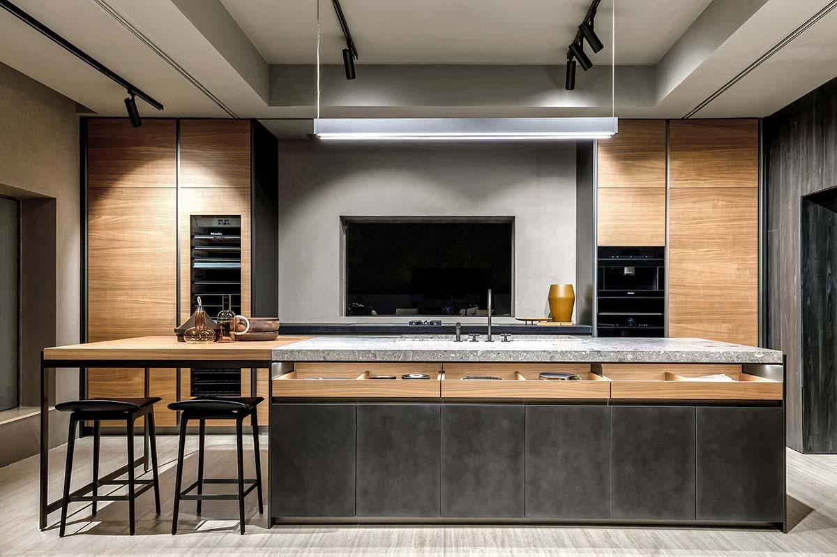 Cucina VVD Molteni&C|Dada flagship store, Dubai