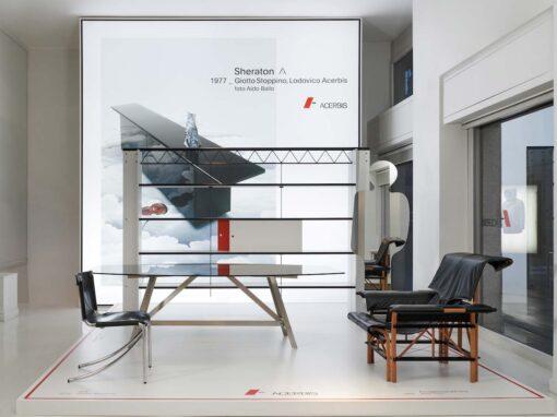 MDF Italia e Acerbis, flagship store MDF Italia, Milano
