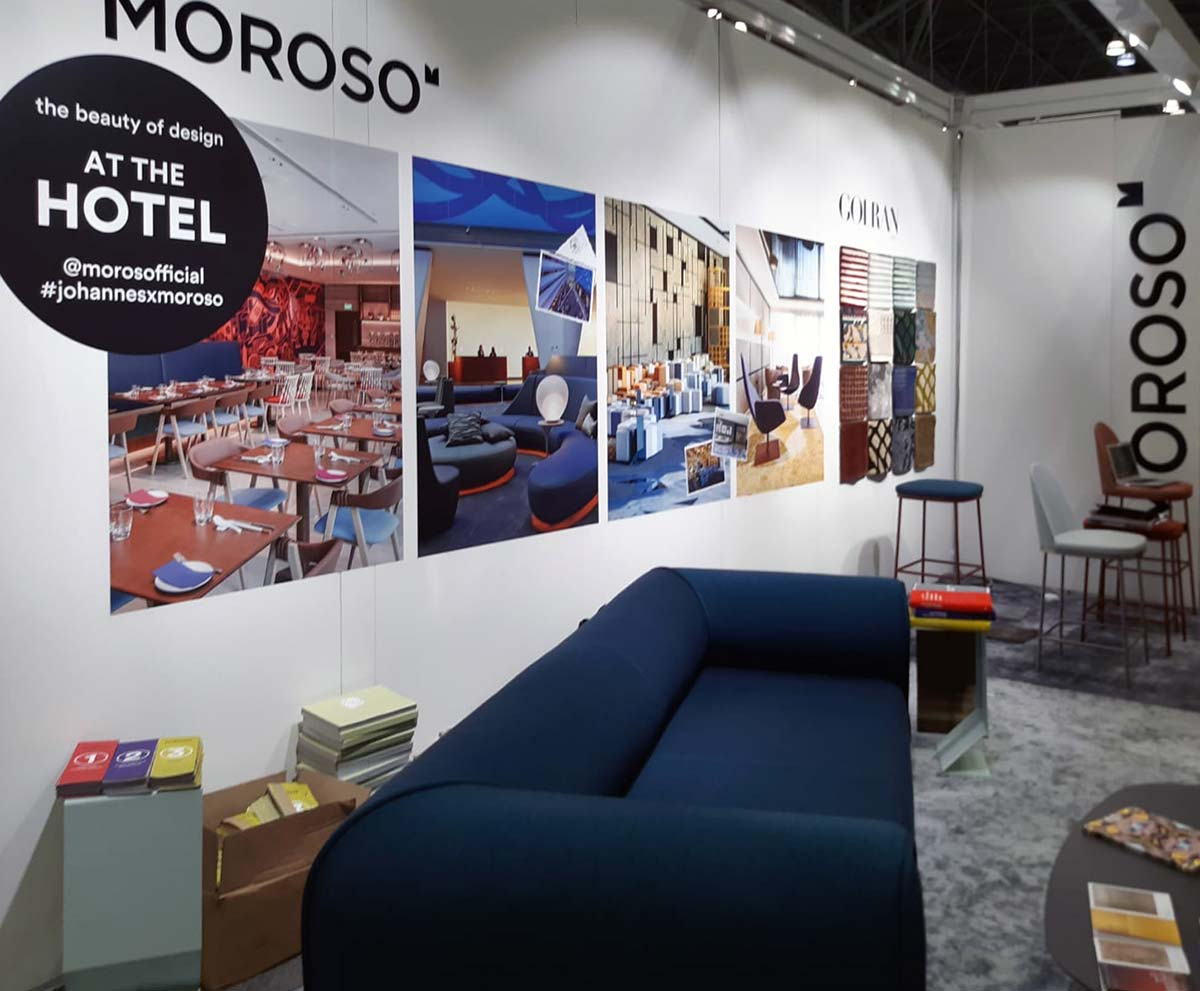 Stand Moroso, BDNY 2019