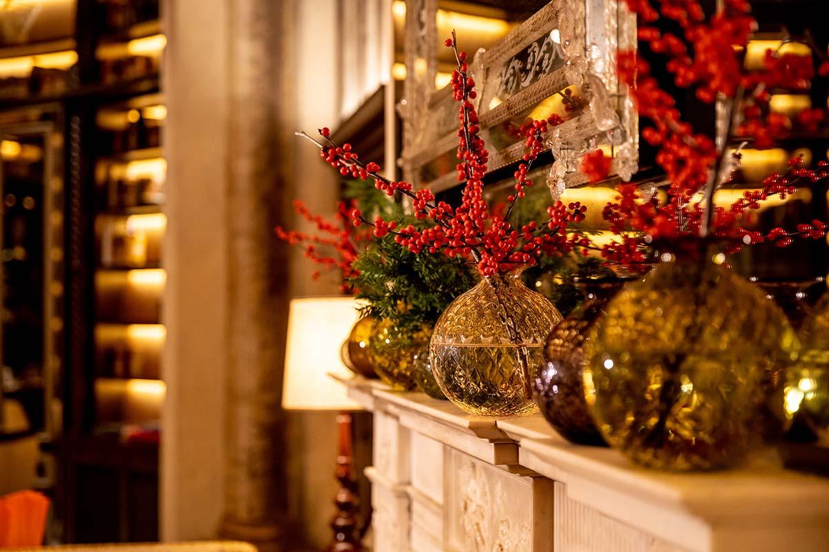 Vasi Venini nell'Hotel Eden di Roma