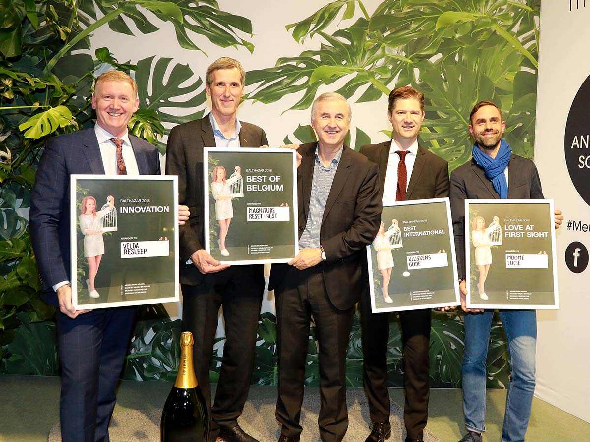 Balthazar Award, Brussels Furniture Fair 2018