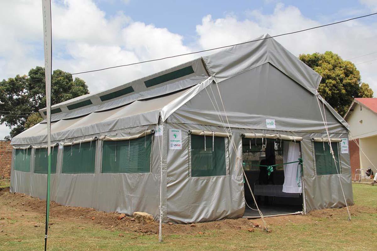 EpiTent 'a tent that breathes', Grace Nakibaala, Makere University, Uganda