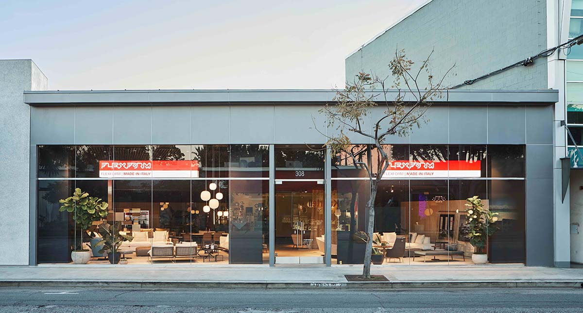 Showroom Flexform, Los Angeles