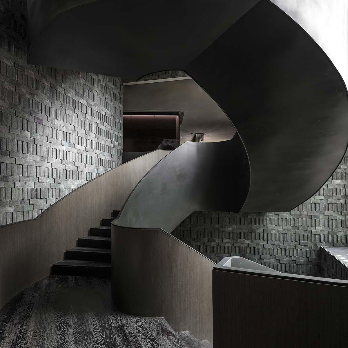 The-Middle-House-Shanghai---ResidencesThe Middle House, Shanghai - Staircase