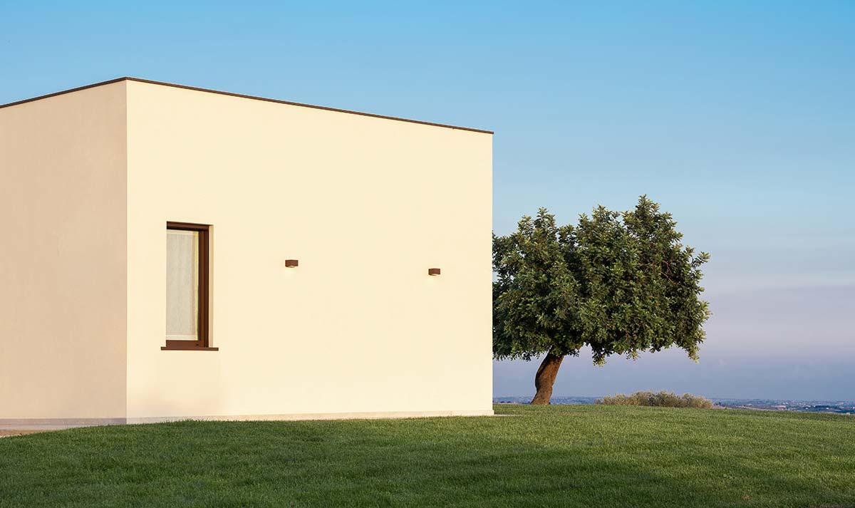 Dettaglio esterno Villa Ispica, ©Giancarlo Tinè