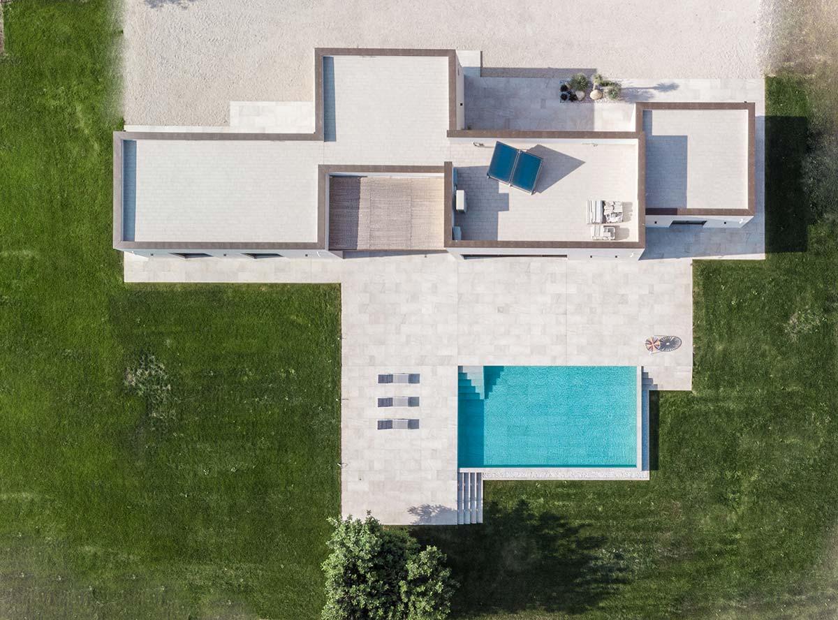 Villa Ispica dall'alto, ©Giancarlo Tinè