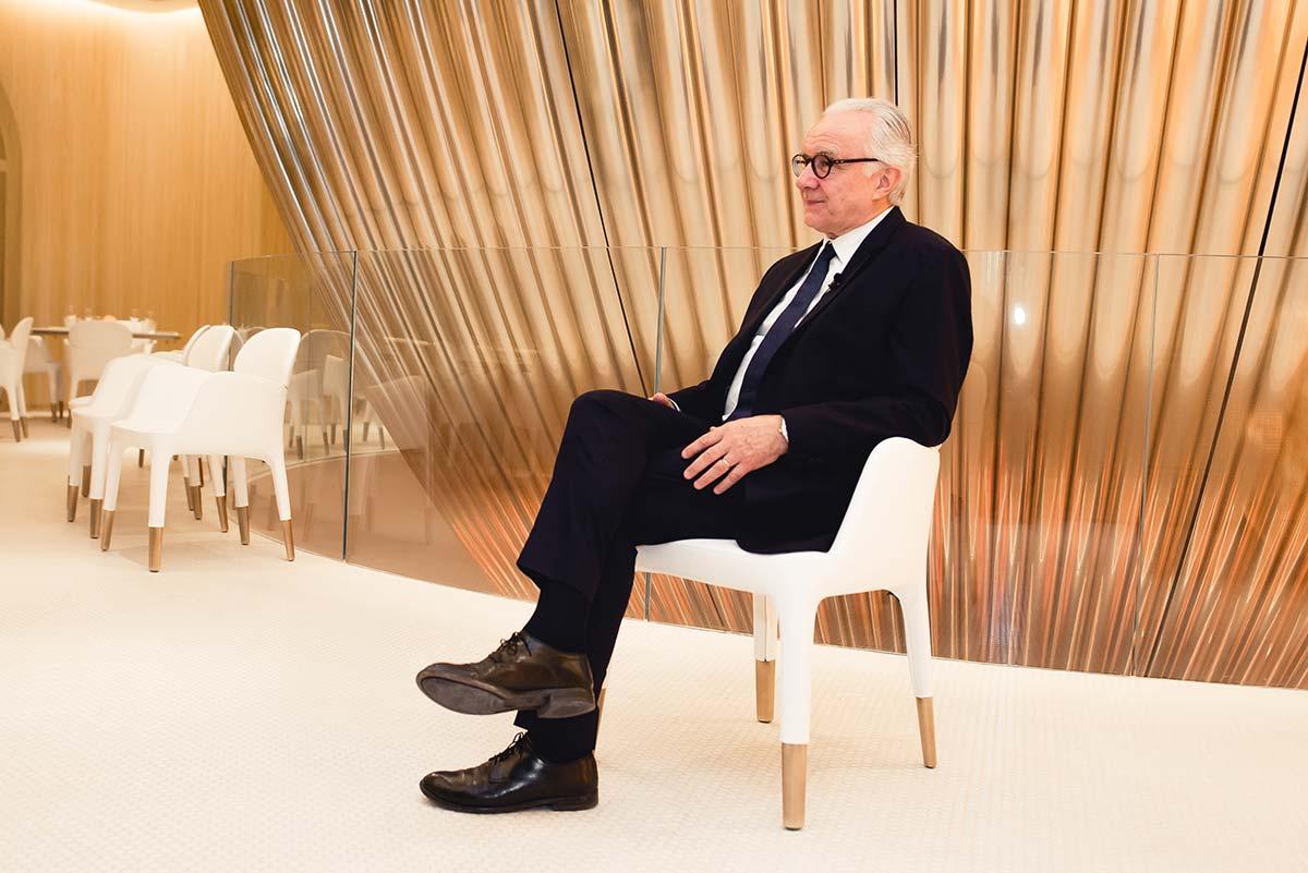 Chef francese Alain Ducasse