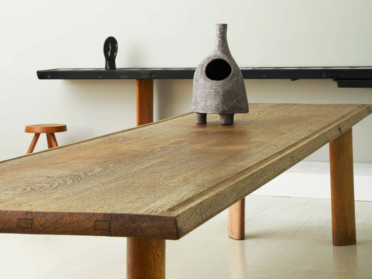 """Table a gorge"" dining table by Charlotte Perriand (1950), courtesy of Magen H. Gallery"