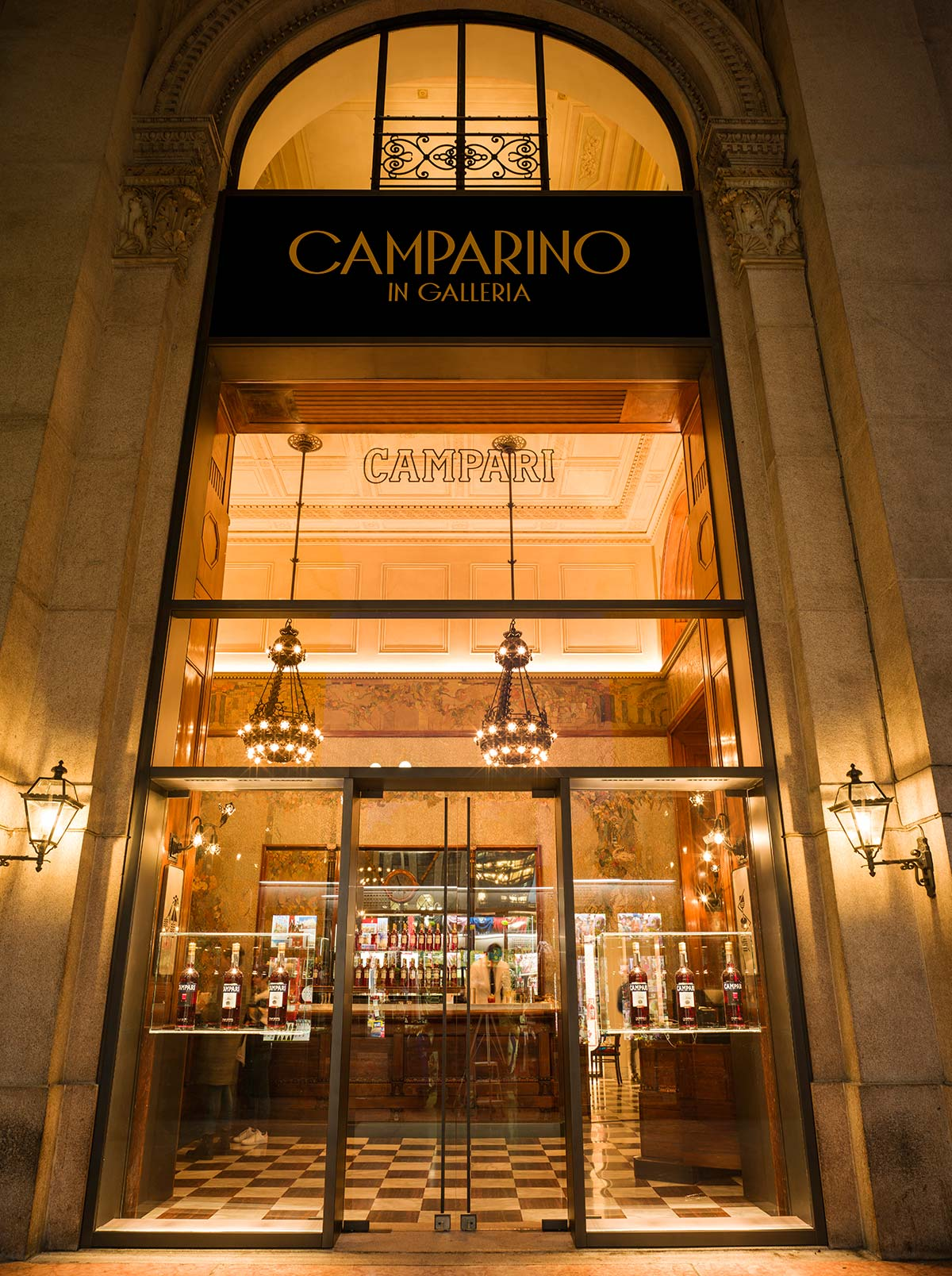 Camparino in Galleria, Milano. Restyling by Lissoni Associati