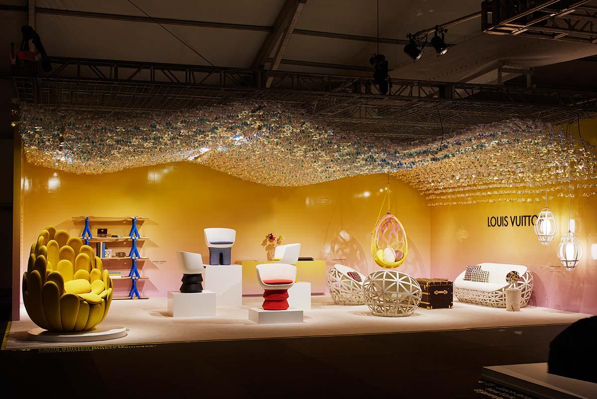 Stand Louis Vuitton a Design Miami, Courtesy of James Harris
