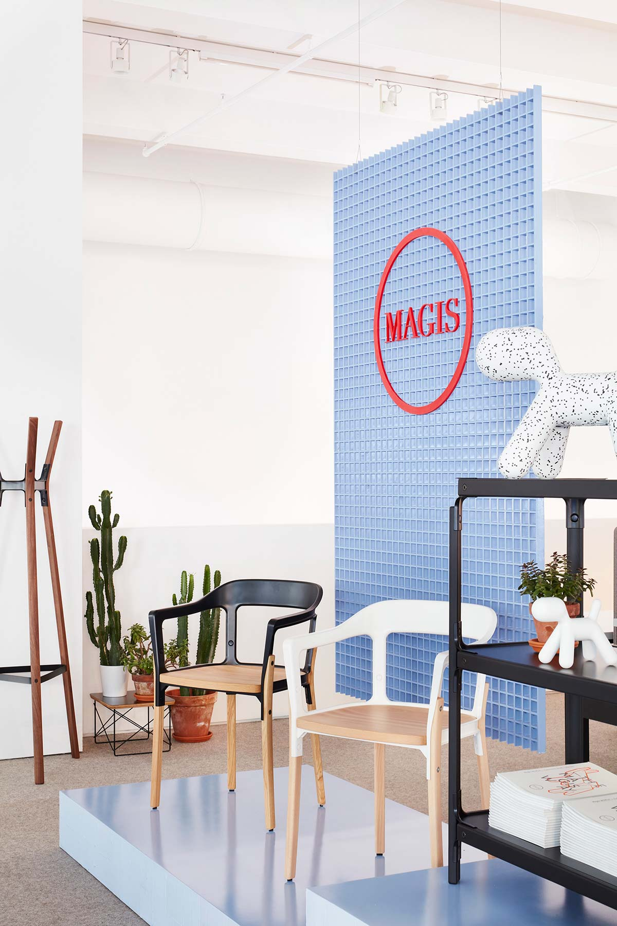 Temporary pop-up Magis a New York