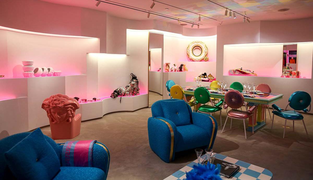 Stand Versace Design Miami ©BFA