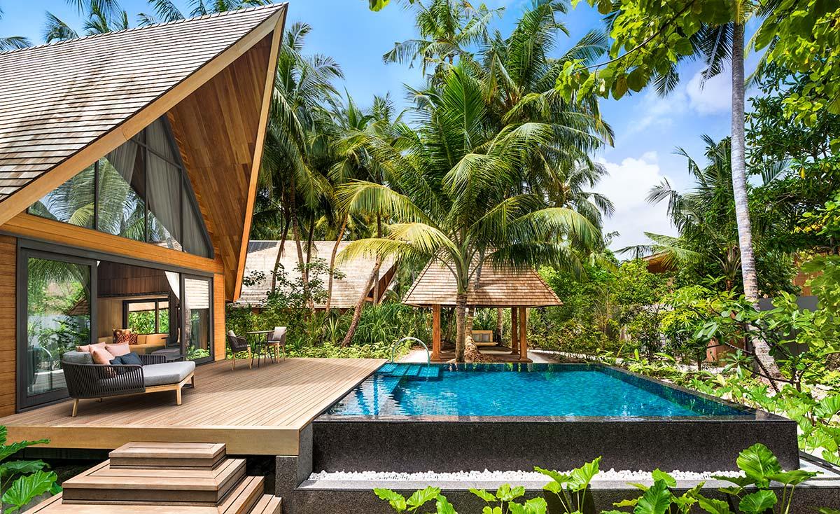 Garden Villa with Pool | St Regis Maldives Vommuli Resort